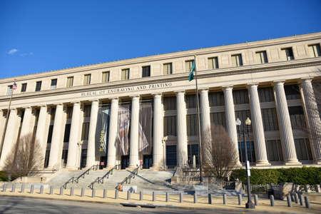 streetlife: Washington DC, USA. Bureau of Engraving and Printing.