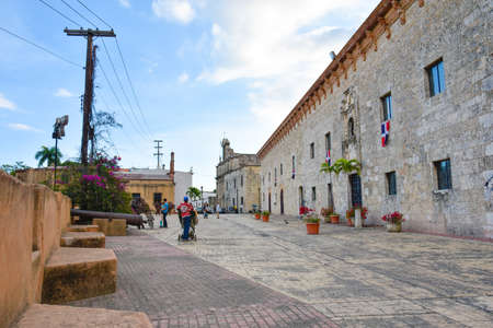 Santo Domingo, Dominican Republic. Museum of Casas Reales (Royal House Museum).