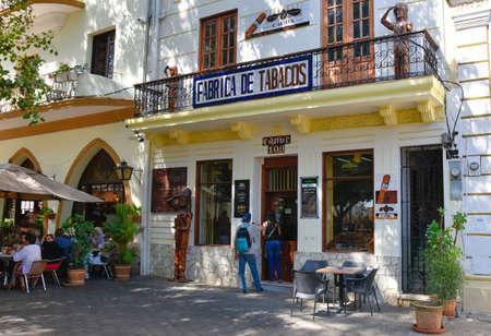 conde: Santo Domingo, Dominican Republic. Street life and view of Calle el Conde and Colonial Zone of Santo Domingo city. Editorial