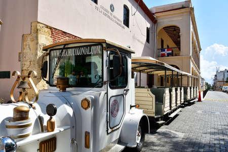 min: Santo Domingo, Dominican Republic. Chu Chu Colonial is a train That present in 45 min. the Colonial City of Santo Domingo. Editorial
