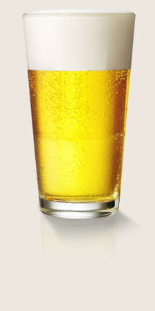 Nice fresh glass of beer