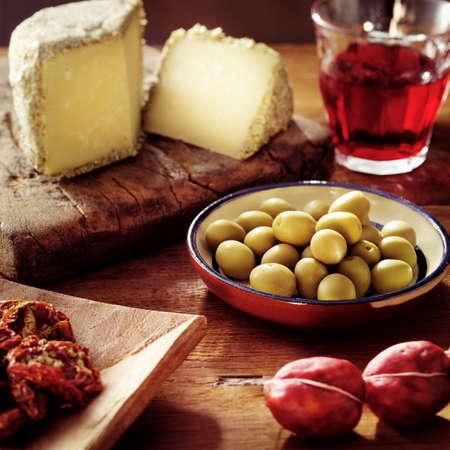 greek food: italian antipasto