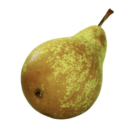 Juicy pear isolated on white Stock Photo