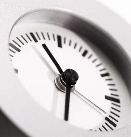 close-up of clock photo