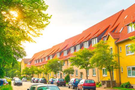 condominium on the outskirts Reklamní fotografie