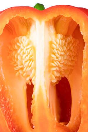 red paprika pepper in a cut Reklamní fotografie