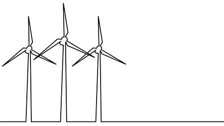 vector images of a windmill