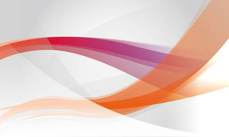 Abstract background with orange and purple waves