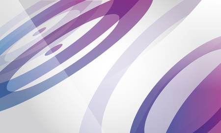 Abstract background with purple and blue circles Illustration