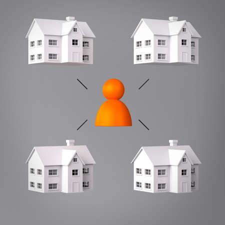 landlord: Landlord Communication Stock Photo