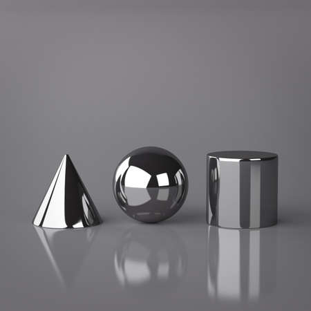 Cone, Sphere and Cylinder Stock Photo - 18226872