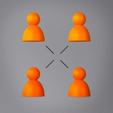 Network Communication Standard-Bild
