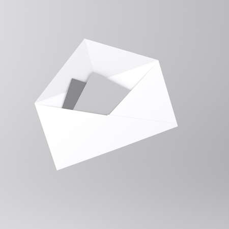 Envelope with letter icon Stock Photo - 18226877