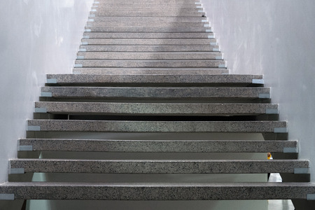 Stairs. Abstract steps. Stairs in the city. Granite stairs. Stone stairway often seen on monuments and landmarks Foto de archivo - 117201803