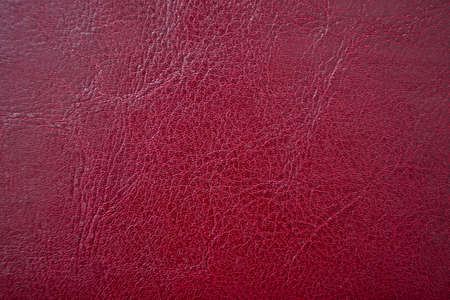 Close up of quality leather texture. Grunge skin fabric background.
