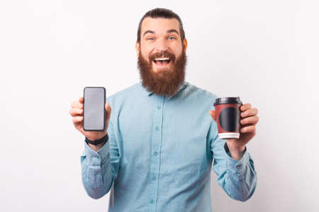 You can now order your coffee online by your phone.