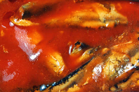 fish in tomato sauce closeup Stock Photo - 7507834