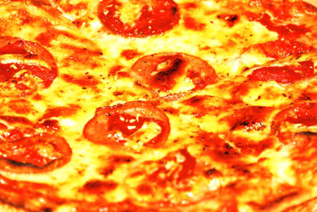 pizza closeup photo