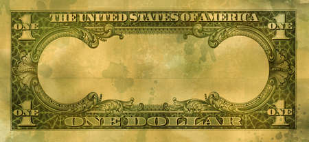 fold back: grunge empty dollar
