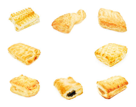 chese: puff pastry collage