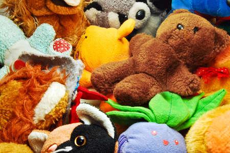 fluffy animals background photo