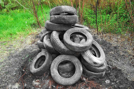 old tyres photo