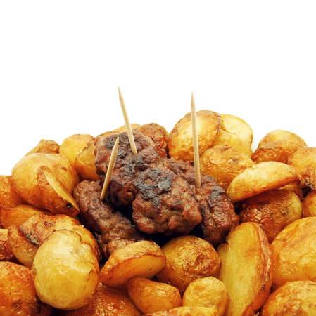 traditional meat and potatoes dish photo