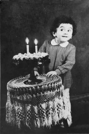 vintage birthday photo