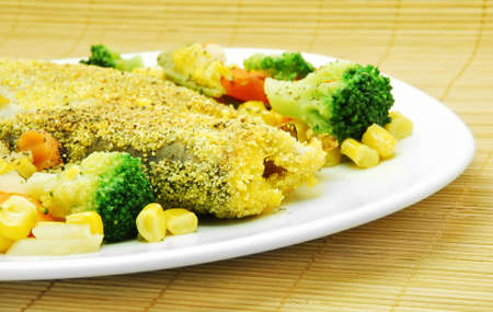 fish and vegetables photo