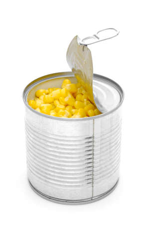 canned food: corn can