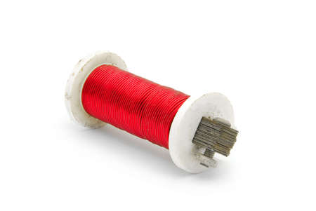 red wire coil photo