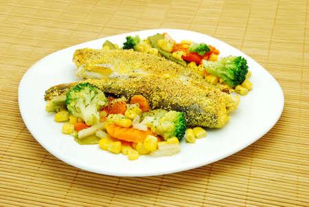 fish dish photo