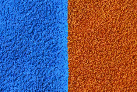 orange washcloth: towel texture