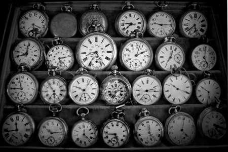 Relojes antiguos Foto de archivo