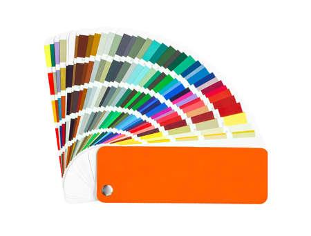 muestra de color