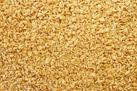 granules: soy granules Stock Photo