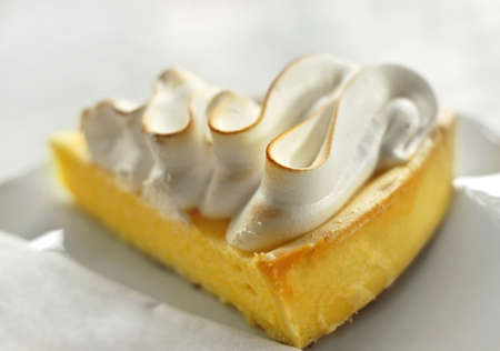 lemon pie Stock Photo