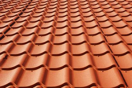 metal roof texture background closeup photo