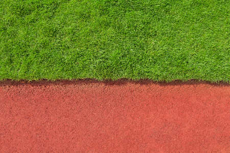 grass and track texture detail photo