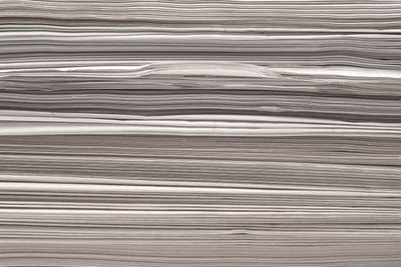 dossier: paper stack closeup background texture Stock Photo