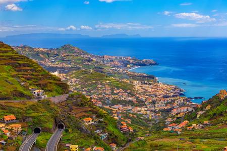 Beautiful landscape, Madeira island, Funchal capital, Portugal