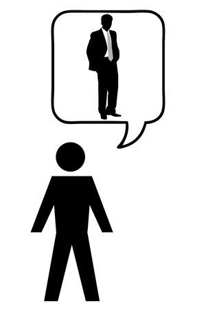 Conceptual business illustrationBusiness metaphor Vector