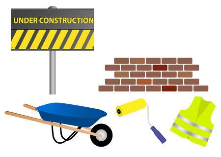 Under constructionWork in progress site Vector