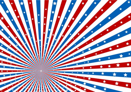 metaphoric: 4th July background Illustration