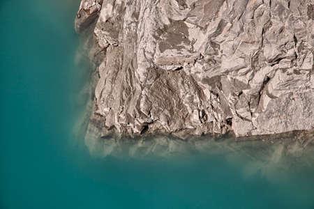 kaprun: Shorline by the upper reservoir in Kaprun - Zell am See, Austria