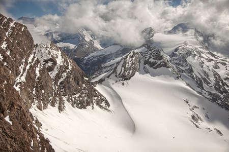 kaprun: Mountain peaks and glaciers near Kaprun - Zell am See, Austria
