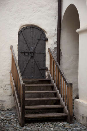 mammoth lakes: Old entry door in Nauders, Austria