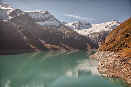 kaprun: Mountain dam near Kaprun - Zell am See, Austria