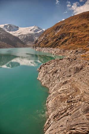 kaprun: Mountain reservoir near Kaprun - Zell am See, Austria