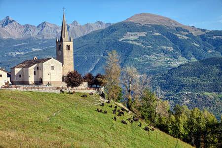 aosta: Saint-Nicolas, Aosta Valley, Italy